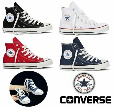 Converse Chuck Taylor All Star High Tops Child Canvas Trainers Walking Shoes