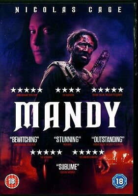 Mandy Nicolas Cage.region 2 Dvd.free Uk P&P