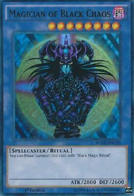 Magician of Black Chaos - YGLD-ENC01 - Ultra Rare 1st Edition NM Yugi''s