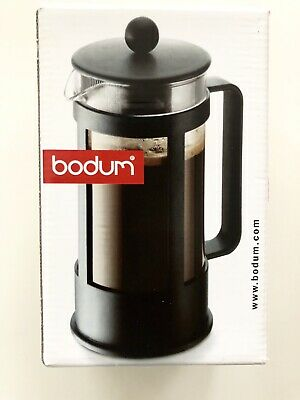 (3 Cup) - BODUM Kenya 3 Cup French Press Coffee Maker, Black, 0.35 l, 350ml