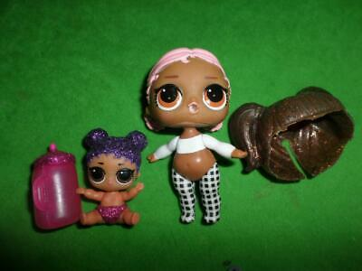 LOL SURPRISE BABY LIL SIS Glitter Glam  Bottle Accessorie lot
