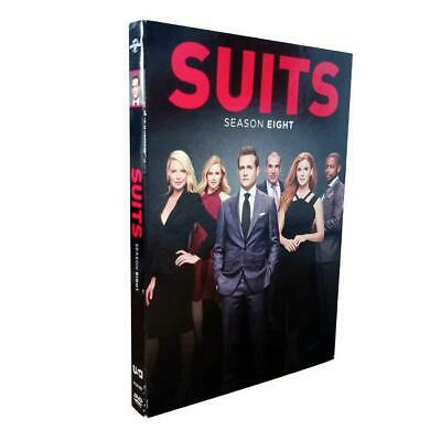 SUITS Season 8 Series eight dvd Brand New & Sealed Postage Free