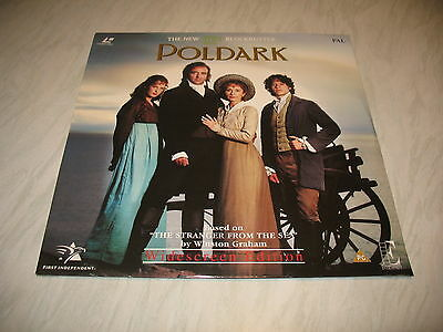 Laserdisc - Poldark (sealed disc is mint but cover is dented PAL)