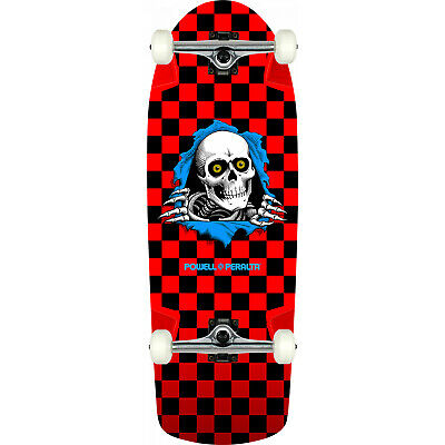 Powell Peralta Skateboard Ripper Checker Red Re-Issue Assembled