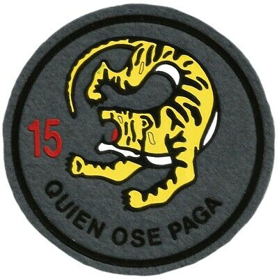Ejercito Aire Ala 15 Wing Quien Ose Paga Spain Air Force  Eb01093 Parche Emblema