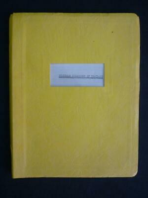 POSTCODE DIRECTORY OF THAILAND - SIGNED compiled by JOHN W ROACH JR