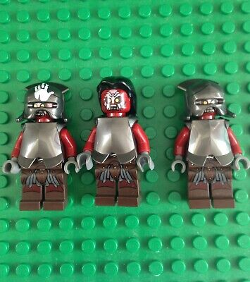 Lego Lord Of The Rings Uruk Hai BRAND NEW Minifigures !!!