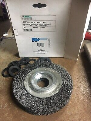 Norton 150x29x32 0.30 Crumpled Wire Wheel Including Bushes