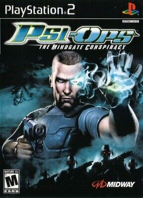 Psi-Ops: The Mindgate Conspiracy - Playstation 2 Game