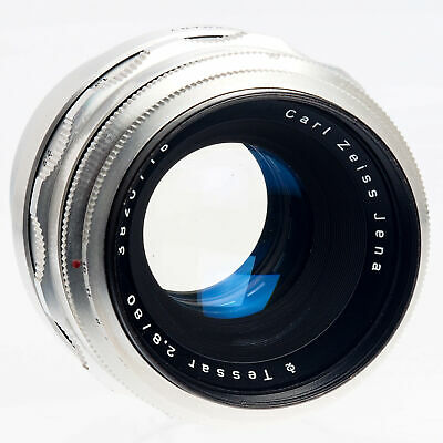 Carl Zeiss Tessar 80mm F2.8 Manual Focus M42 Mount Lens