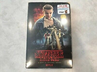 Stranger Things Season 1 (Netflix) Collector's Edition Blu-ray/DVD/Poster *NEW*