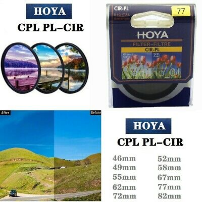 HOYA CPL PL-CIR 46mm_82mm Ultra-thin Circular Polarizer fit for SLR Camera Lens