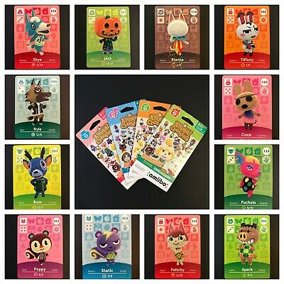 Animal Crossing Amiibo Card Singles - YOU PICK LOT - Series 1 2 3 4 New Leaf Set