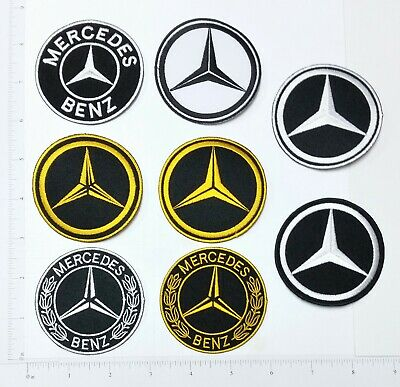 Mercedes Benz 1 Motor Sport Racing Automobile Embroidered Applique Iron on Patch