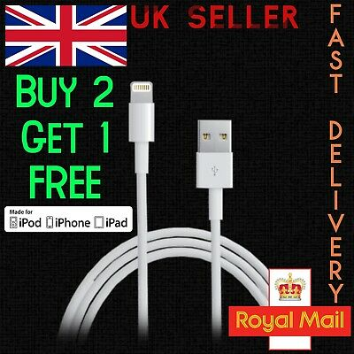 iPhone Charging Cable Fast Charger USB Data Lead for Apple 5 5s 6 6s 7 7plus 8 X