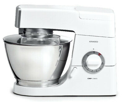 Kenwood KM336 Classic Chef Mixer with Stainless Steel bowl and AT337 Blender