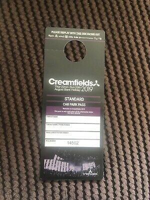 Creamfields Standard Car Park Pass