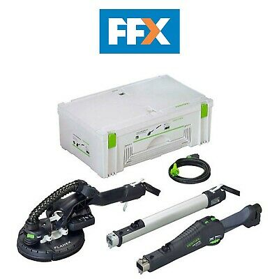Festool LHS 225 Eq-Plus 240v Largo Alcance Lijadora