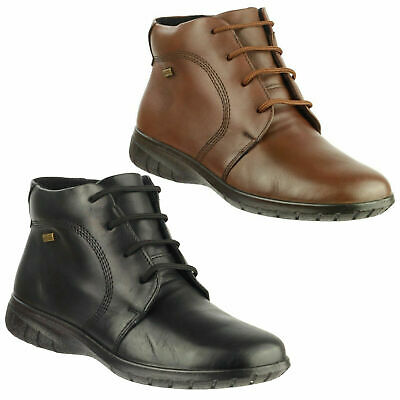 Womens Cotswold Bibury Waterproof Leather Lace Up Ankle Boots Sizes 4 to 8