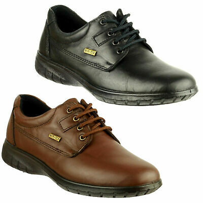 Womens Cotswold Ruscombe Smart Waterproof Leather Lace Up Shoes Sizes 4 to 8
