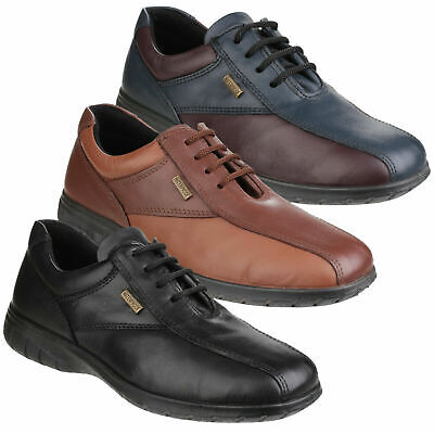 Womens Cotswold Salford Smart Waterproof Leather Lace Up Shoes Sizes 4 to 8