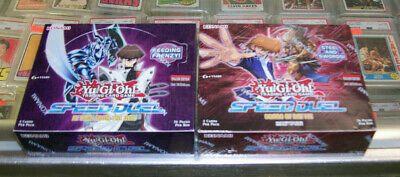 (2) Yu Gi Oh Speed Duel Scars Of Battle & Attack From The Deep Booster Boxes Lot