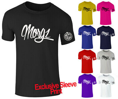 New Boys Girls Kids Morgz Youtuber Gaming Gamer Team Mogz MGZ T Shirt Top 3-15 S