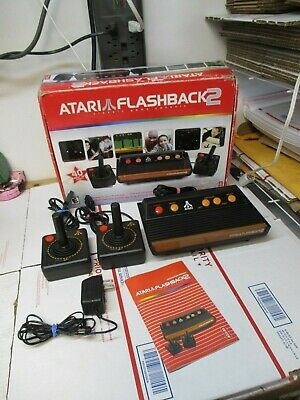 Atari Flashback 2 Classic Game Console Just Plug & Play Used Works Fast Shipping