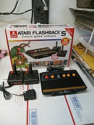 Atari Flashback 5 Classic Console 92 Built- In Games Collectors Edition
