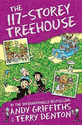 The 117-Storey Treehouse by Andy Griffiths and Terry Denton Paperback NEW Book