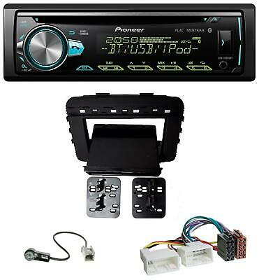 Pioneer AUX MP3 USB CD Bluetooth Autoradio für Kia Sorento (UM, ab 03/2015)