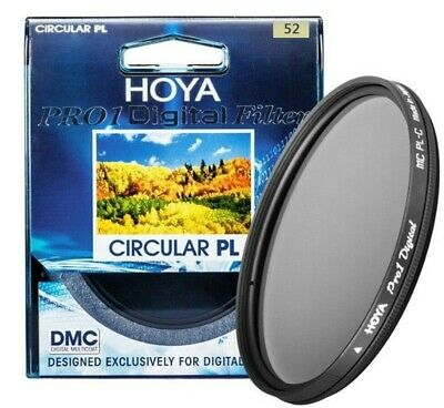 HOYA 52mm Pro1 CPL Digital Polarizer Camera Lens Filter for SLR Camera CIRCULAR