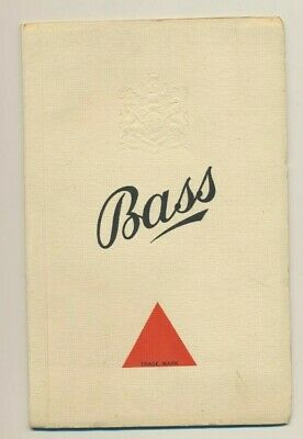 Bass - promotional booklet
