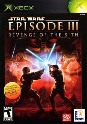 Star Wars: Episode III: Revenge of the Sith - Original Xbox Game