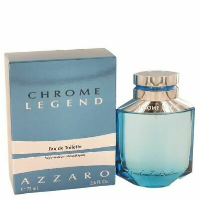Chrome Legend by Azzaro Eau De Toilette Spray 2.6 oz / 77 ml (Men)