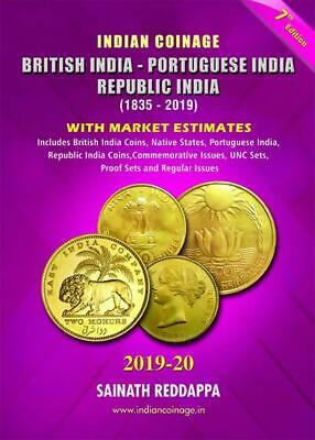 Indian Coinage Guide Book, British India - Republic India (1835-2019) New 7th Ed