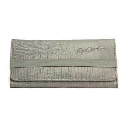 Rip Curl TAMAR Womens Silver Leather Look Purse Ladies Note Coin Casual Wallet