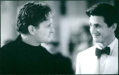 "Michael Douglas and Sean Penn in a scene from ""The Game""  1997 film . - Vintage"