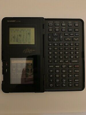 Sharp IQ-7000 Electronic Organiser *RARE and Vintage*