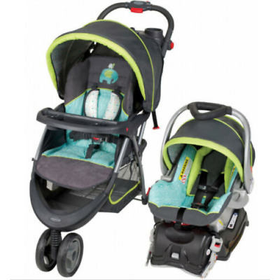 Stroller And Car Seat Combo Baby Infant Carriage Buggy Bassinet Unisex Kid Child