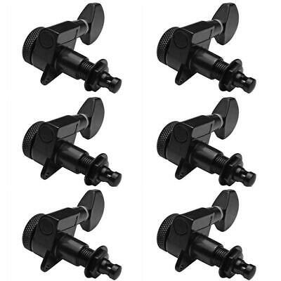 Guitar Tuning Pegs Tuners Keys Machine Heads for Electric Guitar Parts Black 1PC