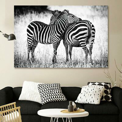 Canvas Painting Nordic African Animals zebra posters Modular Picture home decor