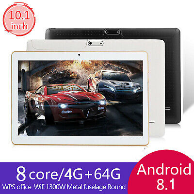 """10.1"""" Tablet PC 6G+64G 8 Core Android 8.0 Dual SIM Camera Wifi Phone Phablet New"""