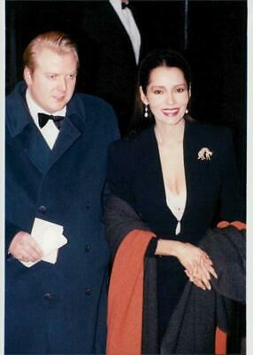 Harry Percy and Barbara Carrera - Vintage photo