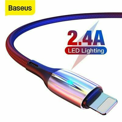 Baseus USB Type C to Apple Lightning Cable For iPhone Charging Data Cord Braided