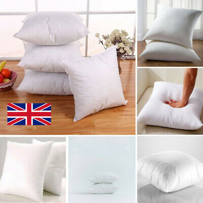 Cushion Inserts Inners Pads Scatter Square Pillow Floor Hollow Fiber 2 Sizes