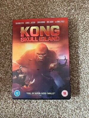 Kong: Skull Island (DVD 2017) Tom Hiddleston, Brie Larson, Samuel L. Jackson.
