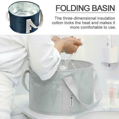 Portable Folding Wash Basin Foot Bucket Collapsible Bucket for Outdoor Travel