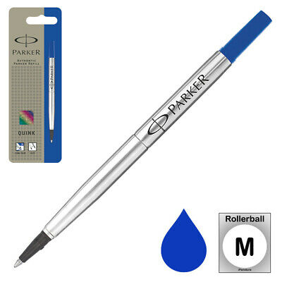 Parker Rollerball Refill, Blue Medium, 0.7 mm