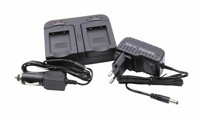 2in1 CHARGEUR SET pour OLYMPUS FE-240 / FE-250 / FE-280 / FE-290